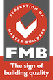 Federation of Master Builders logo.