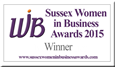 Sussex Women in Business Awards logo.